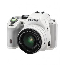 Pentax K-S2 DSLR Camera White With 18-50mm Lens