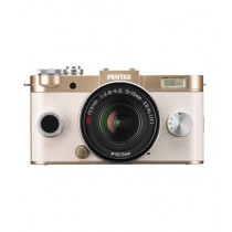 Pentax Q-S1 Mirrorless Digital Camera Beige With 5-15mm and 15-45mm Lenses