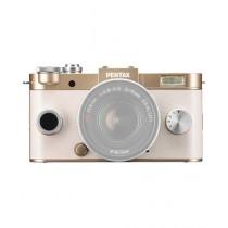 Pentax Q-S1 Mirrorless Digital Camera Champagne Gold (Body Only)