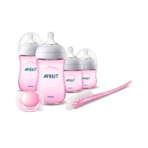 Philips Avent Newborn Natural Starter Set Pink (SCD290/13)