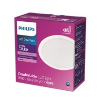 Philips Meson 080 5W 40K Recessed Led White (59442)