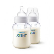 Philips Avent Classic+ PA Feeding Bottle 260ml Pack Of 2 (SCF454/27)