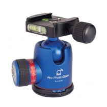 Photo Clam BallHead Blue (PRO 34NS)