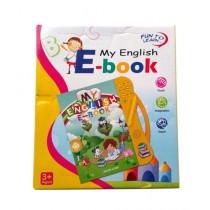 Planet X English E-Book Yellow (PX-9582)