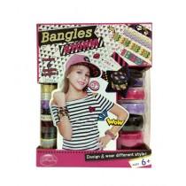 Planet X Girls Fashion Designer Bangles Set Pack of 6 (PX-9754)