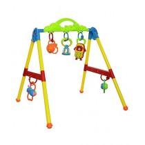 Planet X Safe Plastic Play Gym Multicolor (PX-10024)