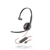 Plantronics Blackwire 3210 Corded UC USB-C Headset