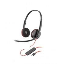 Plantronics Blackwire 3220 Corded UC USB-C Headset