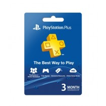 PlayStation Plus 3 Months Membership Card - PS3/PS4/PS4 Pro/PS Vista - Email Delivery