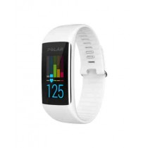 Polar Fitness Tracker with Wrist Heart Rate Monitor White (A360)