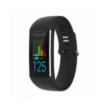 Polar Fitness Tracker with Wrist Heart Rate Monitor Black (A360)