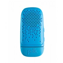 Polk Boom Bit Wearable Bluetooth Speaker Sport Blue