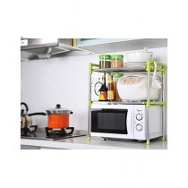 Portable Product Microwave Oven Storage Rack - Green