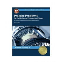 Practice Problems For The Mechanical Engineering PE Exam Book13th Edition