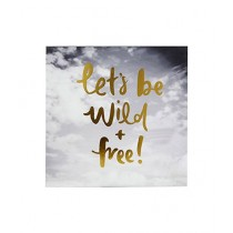 Premier Home Lets Be Wild Free Wall Plaque (2800820)