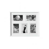 Premier Home Plastic 5 Photo Frame White (2300670)