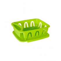 Premier Home Plastic Dish Drainer With Removable Tray Lime Green (0805147)