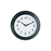 Premier Home Vintage Plastic Wall Clock Black (2200420)