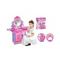Pride Collection Girls Glamour Mirror Dressing Table