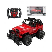 Pride Collection Rechargeable Off Road Jeep Wrangler Car