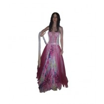 Princess Diaries Full Length Sleeveless Maxi Dress Pink (PD-023)