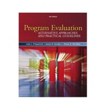 Program Evaluation Alternative Approaches and Practical Guidelines Book 4th Edition