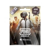PUBG 600 + 60 UC GLOBAL Gift Card $28 - Email Delivery