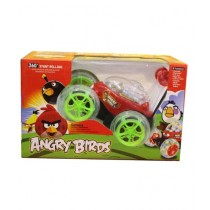 Planet X 360 Stunt Rolling Angry Bird Car - Multi color (PX-10763)