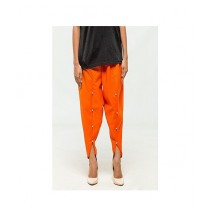 Queenstocks Cotton Tulip Shalwar For Women - Orange (QA-0024)