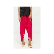 Queenstocks Cotton Tulip Shalwar For Women - Shocking Pink (QA-0025)