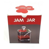 Quickshopping Acrylic Jam Jar With Spoon