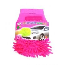 Quickshopping Microfiber Super Mitt Pink