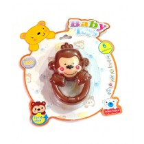Quickshopping Baby Activity Toy Monkey Design Brown (1392)