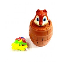Quickshopping Barrel Squirrel Lucky Game For Kids (1483)