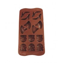 Quickshopping Chocolate Mould Multiple Design (1407)