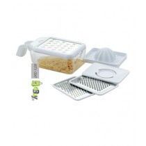 Quickshopping Multi Grater with Juicer & Egg Separator (0186)