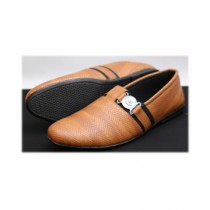 R&H Fashion Formal Shoes For Men - Brown (RH-0047)