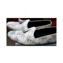 R&H Fashion Formal Shoes For Men's white/Black (RH-0002)