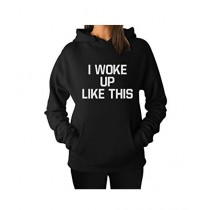 R&H Fashion Hoodie For Women - Black (0040)