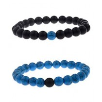 RA Traders Beads Bracelet For Couple (0016)