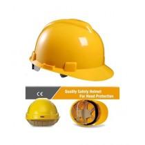 Rajpal Construction Labor Safety Helmet Yellow
