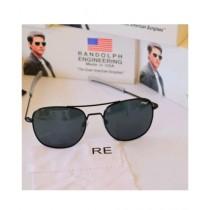 Randolph Engineering Aviators Polarized Men's Sunglasses Black