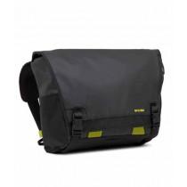 """Incase Range Messenger Bag Large for 15"""" MacBook Pro Black and Lumen"""