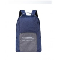 Rangoon Foldable Travel BackPack Blue (Fb-01)
