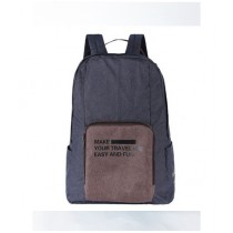 Rangoon Foldable Travel BackPack Greyish blue (Fb-01)