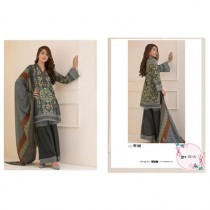 Rangreza Printed Women's Lawn Collection 2018 (SR-02)