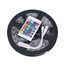 Rauf Traders 5M RGB Waterproof Remote Control Led Strip Light