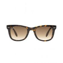 RayBan Non-Polarized Folding Wayfarer Women's Sunglasses RB4105 54