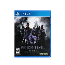Resident Evil 6 Game For PS4
