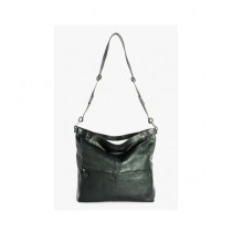 Reza High Quality Leather Shoulder Bag For Women Black (BMT1-0002)